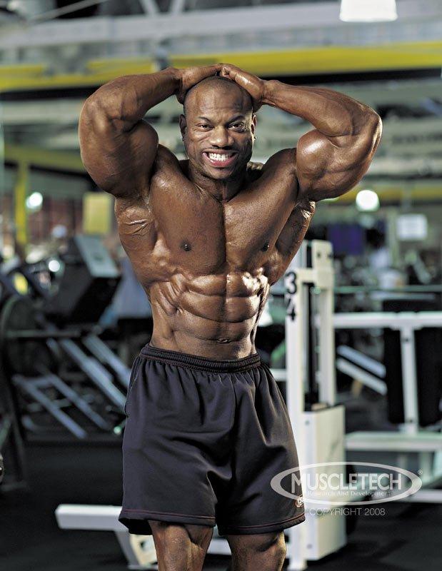 Dexter Jackson's Shredded Training Program: High-Voltage ...  Dexter Jackson Abs