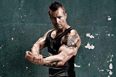 Bodybuilder And Training/Nutrition Expert Kris Gethin.