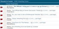 WWE Wrestling Forum