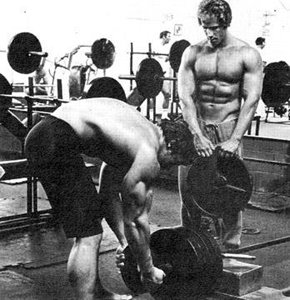Ric Drasin Training With The Austrian Oak, Arnold.