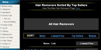 Hair Removers Sorted By Top Sellers