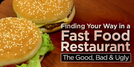 Bodybuilding Com Finding Your Way In A Fast Food