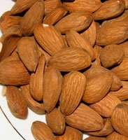 Almonds Contain Good Fats.