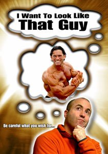 Front Cover Art Of Stuart's Movie 'I Want To Look Like That Guy'.