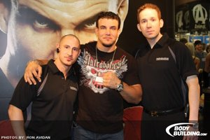 Frank Mir With Rodney & Crew At The Nutrabolic Booth At The 2009 Arnold Classic.