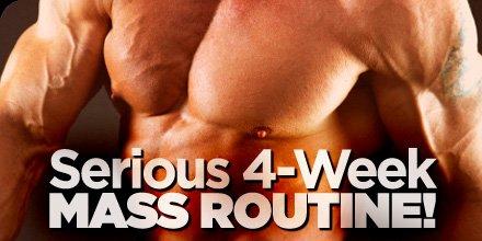 chest workout plans mass