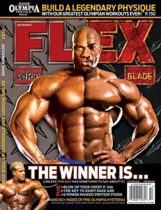 Flex Magazine: 'The Blade Vs. The Gift'!