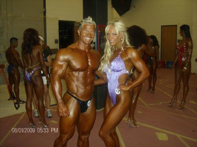 My Husband, IFBB Pro Peter Putnam, Has Been An Integral Part Of My Career.