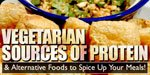 Vegetarian Sources Of Protein: Part 2.