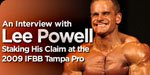 An Interview With Lee Powell!