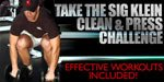 Take The Sig Klein Clean And Press Challenge!