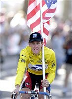 Cyclist Lance Armstrong Has A VO2 Max Of 85 ml/kg/min.