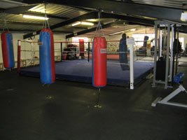 We Have A Full Size Boxing Ring.