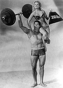 Peter Lupus, Muscle Beach Party.