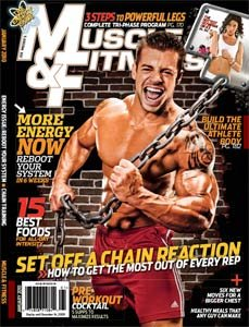 Muscle & Fitness January 2010