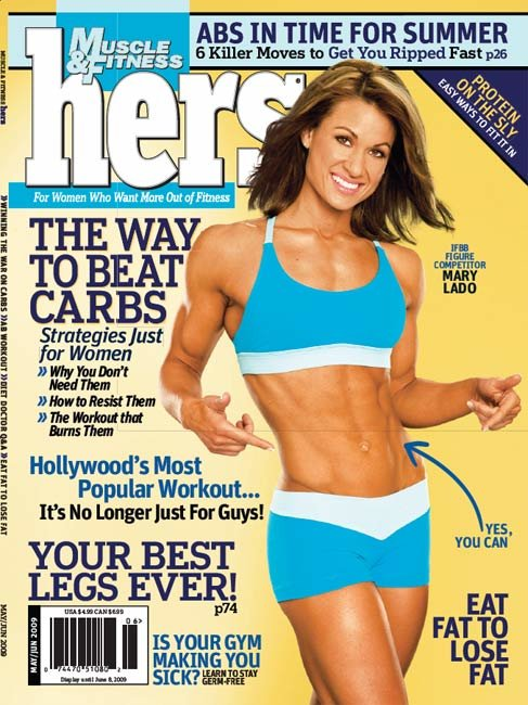 Muscle Fitness Hers May June 2009