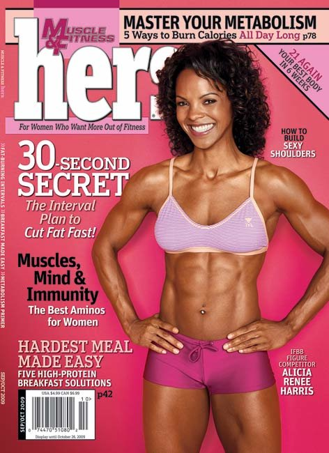 Muscle Fitness Hers September October 2009