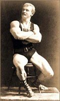Eugene Sandow Believed In This Greek Ideal Body Structure.