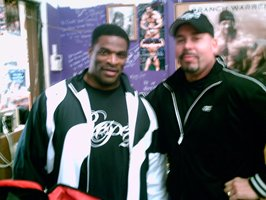 Brian & 8-Time Mr. Olympia Ronnie Coleman.
