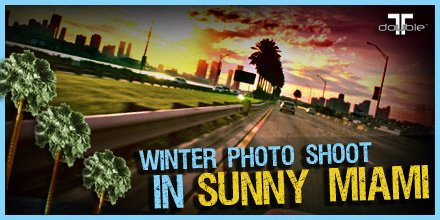 Winter Photo Shoot in Sunny Miami!