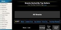 Healthy Snacks Sorted By Top Seller