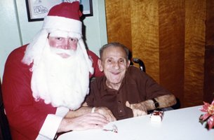 I Returned Every Year To Play Santa Claus For The Residents.