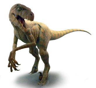 Randy Oviously Didn't See The Connection Between Velociraptors And The Situation At Hand.