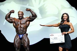 8 Time Mr. Olympia: Ronnie Coleman.