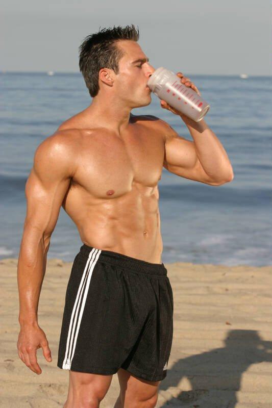 Guy Beach Body