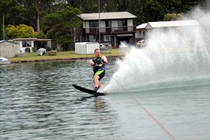 Water Skiing Will Zero In On The Entire Lower Body And Core Muscles.