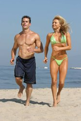 Jogging On Sand Is Going To Really Up Your Calorie Burn.