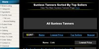 Sunless Tanners