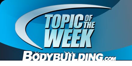 Topic Of The Week