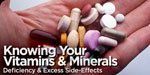 Knowing Your Vitamins And Minerals!