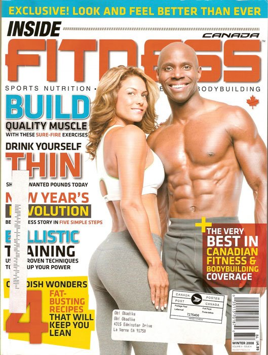 First African-American Male Fitness Model To Be On The Cover Of Inside ...