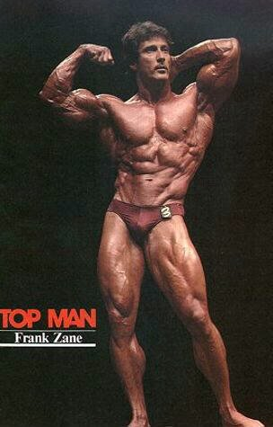 In '78, and with 12 competitors to contend with, Frank Zane again had
