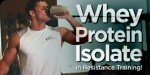 Whey Protein Isolate In Resistance Training!