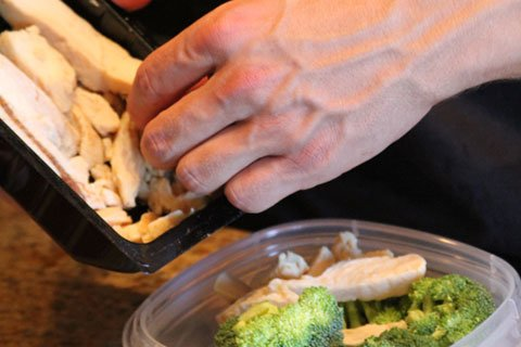 A Quick And Easy Way To Ensure Your Getting The Right Amount Of Food Is Compare It To The Size Of Your Hand.
