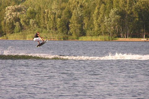 I Recommend Participating In Some Kind Of Outdoor Activity Such As Water Skiing.