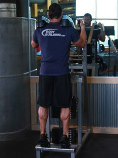 Today's Focus Is On The Calves And The Forearm Muscles.
