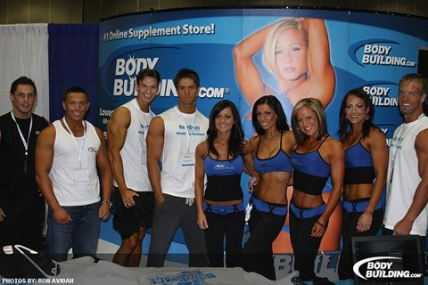 The Contestants Worked A Half Day At The Bodybuilding.com Booth, And They Made Us Look Good.