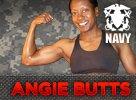 Female Navy Winner: Angie Butts!