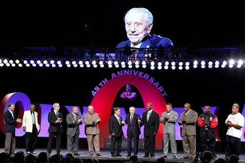The Coolest Thing About The Whole Weekend Was Seeing All The Mr. Olympia's On Stage At One Time With Joe Weider