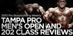 2010 Pro Bodybuilding Weekly Tampa Pro Men's Open and 202 Class Reviews!