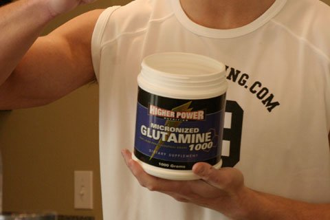 Glutamine Is A Must For All Hard Working Athletes And Weight Lifters.
