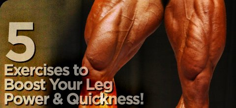 5 Exercises To Boost Your Leg Power & Quickness!