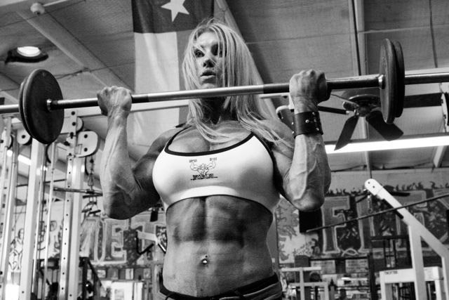 muscle building workouts for women