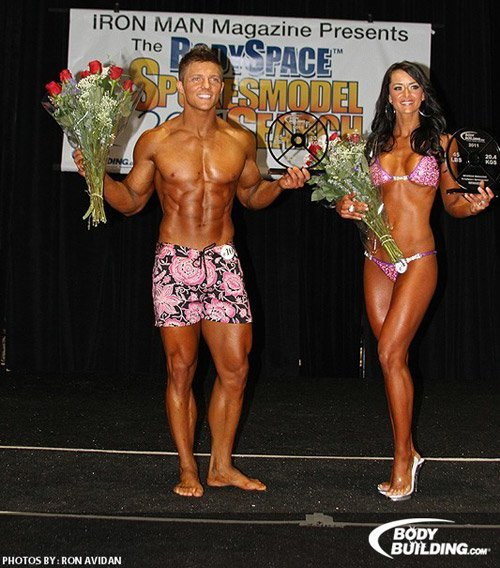Your New 2011 BodySpace Spokesmodels Steve Cook and Jennifer Rankin!