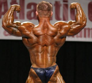 James Flex Lewis At The 2009 Atlantic City Bodybuilding, Fitness & Figure Championships.