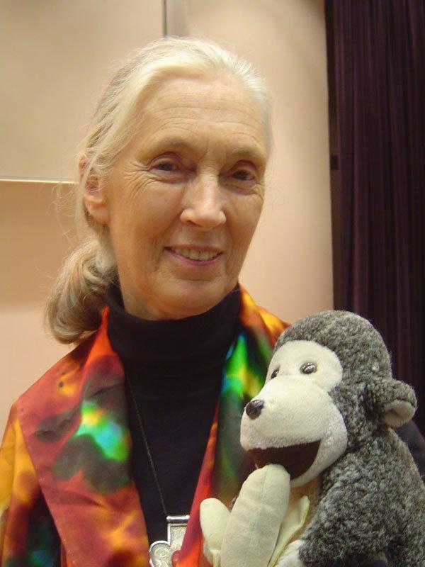 Dame Valerie Jane Morris Goodall.